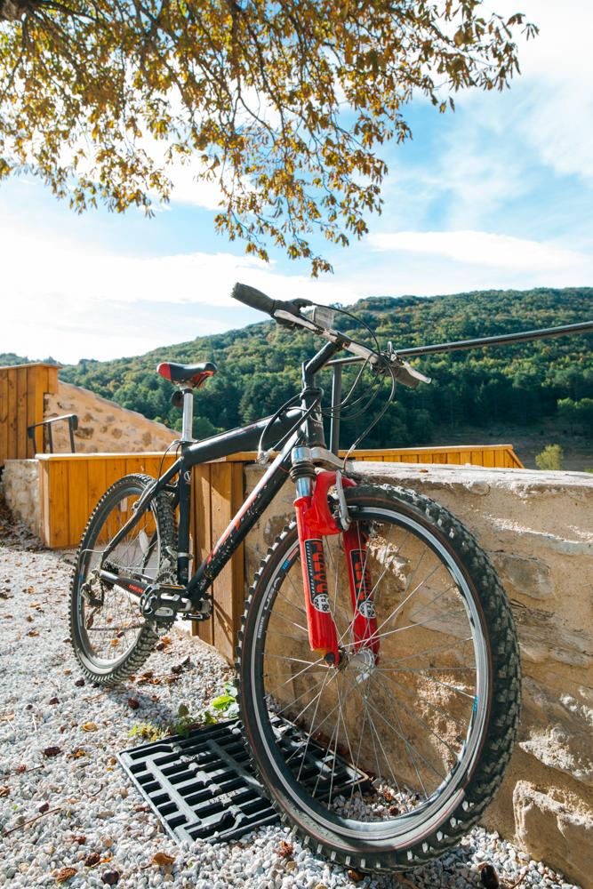 Domaine de merlac vélo randonnée