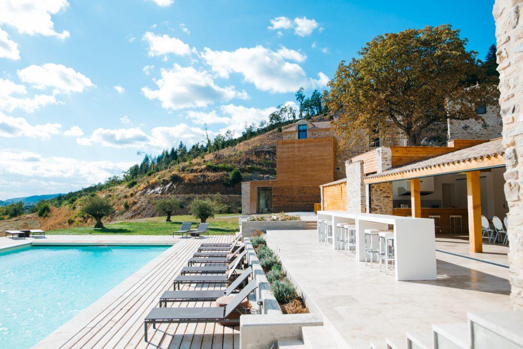 Domaine de merlac piscine swimming pool