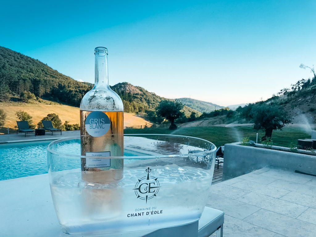 Domaine de merlac piscine vin