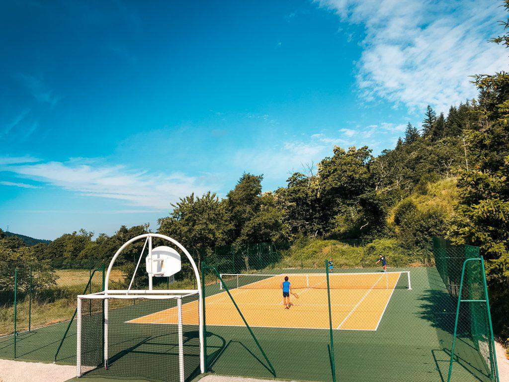 Domaine de merlac tennis basket